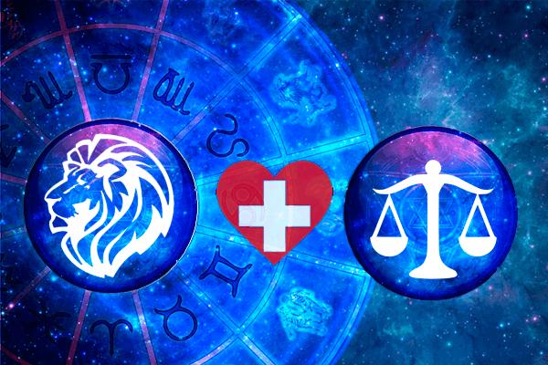 Combinação de Libra e Leão