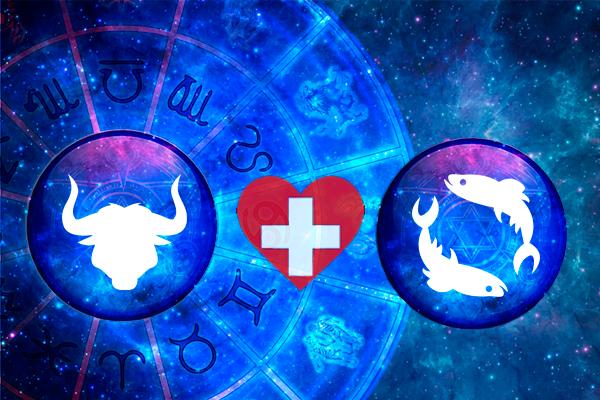 Signo de touro combina com peixes?