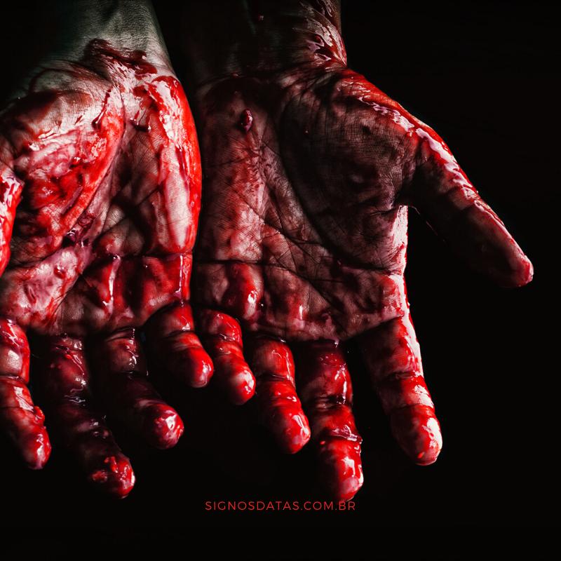 sonhar que está sangrando