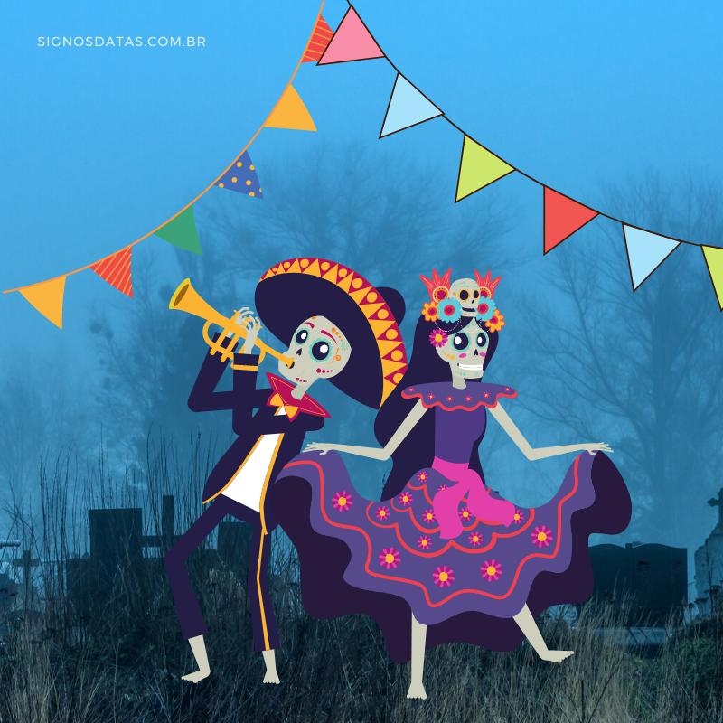 sonhar com cemitério em festa